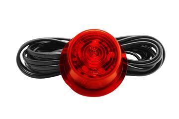 Bild von Ersatzglas Diode Rot Glas