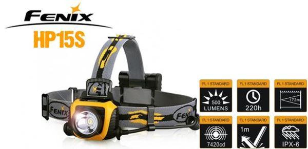 Picture of Fenix Headlamp HP 15