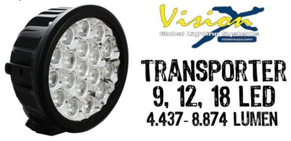 """Bild på Vision X Transporter Prime 6.5"""" 9 LED 45w"""