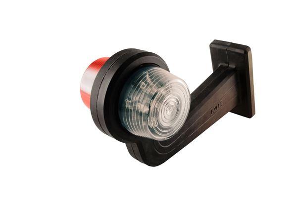 Bild von Seitenbegrenzungslampe Rot/Weiß