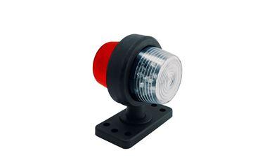 Bild på Positionslampa Vit/röd