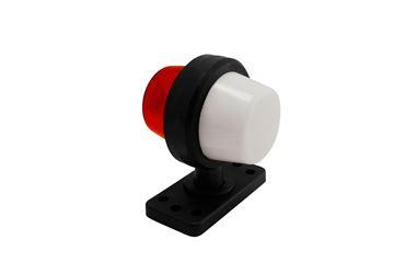 Bild på Positionsljus Vit/röd