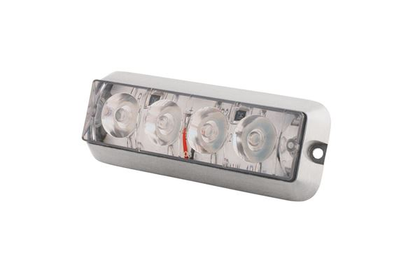 Bild på Blixljus Gul Klarglas LED ECE R65