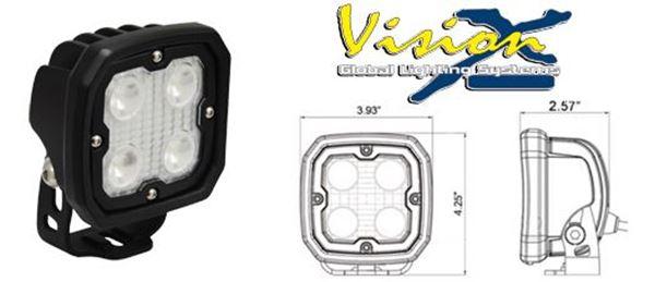 Bild på Vision X Dura Utility 20w 90grader Backlampa