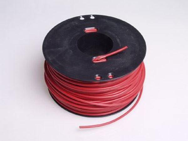 Bild på 100 meter 2.50mm² kabel Röd isolering