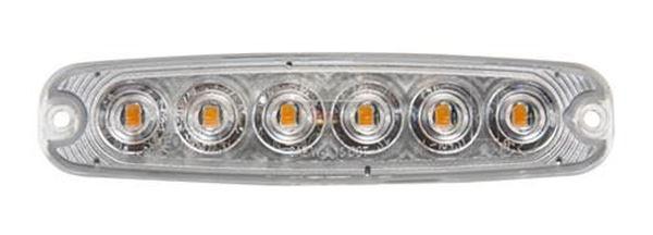 Bild på Blixtljus slim ECE R65 R10 klass 1, klass 2