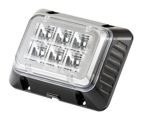 Bild på Blixtljus 3x2 LED ECE R65