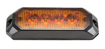 Bild på Blixtljus 4 LED 12-36V 0,3 AMP Orange