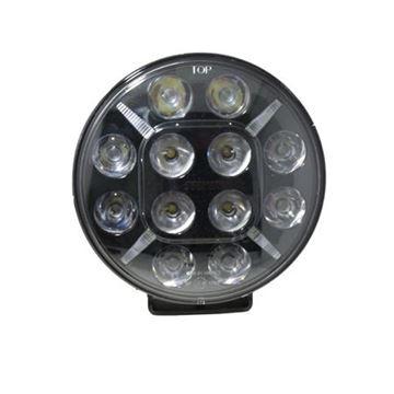 Bild på LED Extraljus 7″ DRL ljus e-märkt