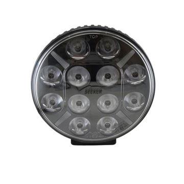 Bild på  Extraljus 9″ 120 Watt DRL Ljus E-Märkt 9-36