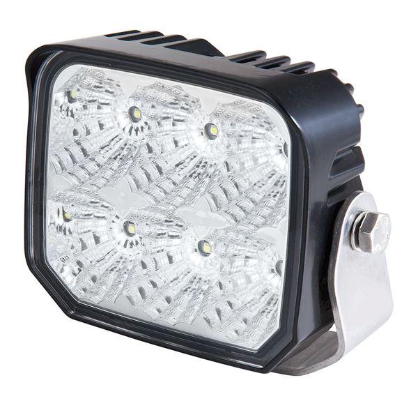Bild på LED Arbetsljus e-märkt 9-36V 6*5W 2700Lm