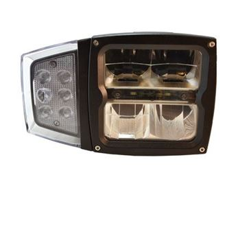 Bild på Ploglampa led med blinkers och värme E-märkt
