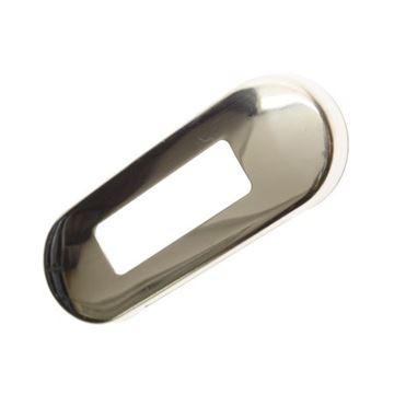 Bild på Rostfri, polerad stålram till positionslyktorna 30504,30505,30506