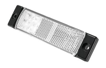 Bild på Positionljus Vit 9-36V 4 Led 5m kabel