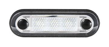 Bild på Positionsljus Röd 3 Led klarglas 12-24V